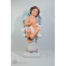 Ангел на постаменте цветной