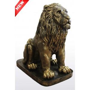 Лев сидящий