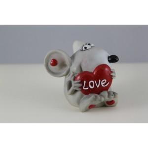 Мышь с сердцем