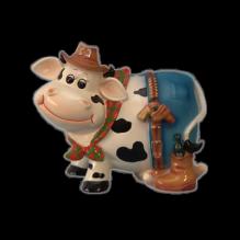 Корова в шляпе