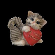 Котенок с сердцем