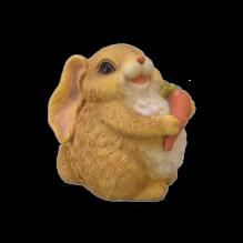 Кролик с морковкой средний