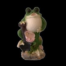 Лягушка с лопатой