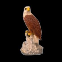 Орел  на скале