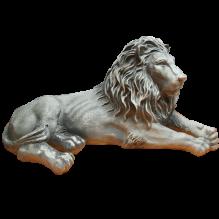 Лев тонированный левый